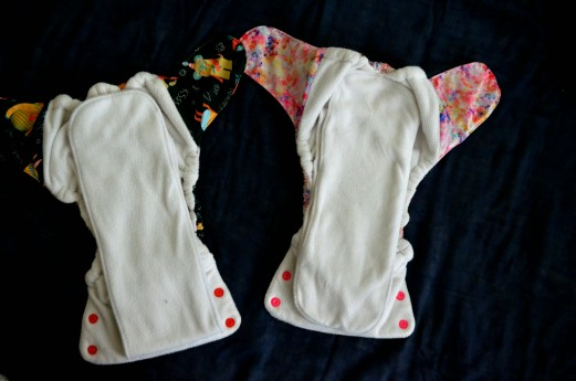 Left : Duet with Toddler insert ; Right Duet with Infant insert